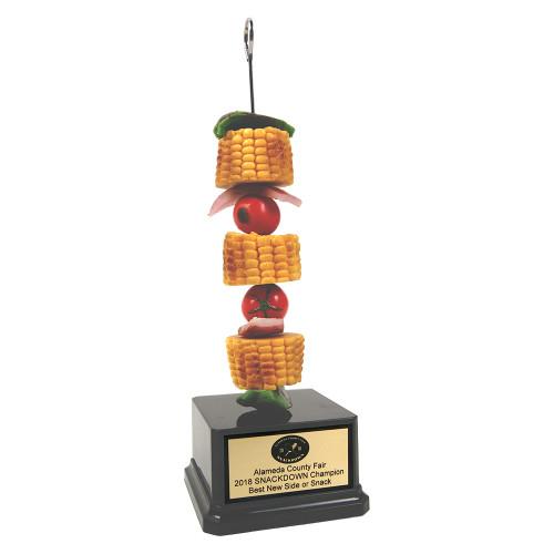 Veggie Shish Kabob Trophy