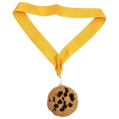 Chocolate Chip Cookie Medal