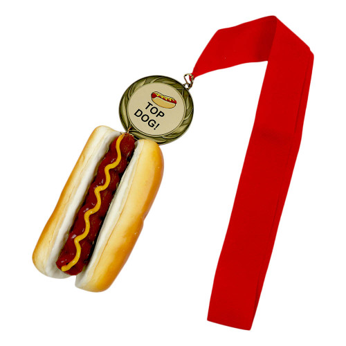 Hot Dog Metal with Personalized Engraving