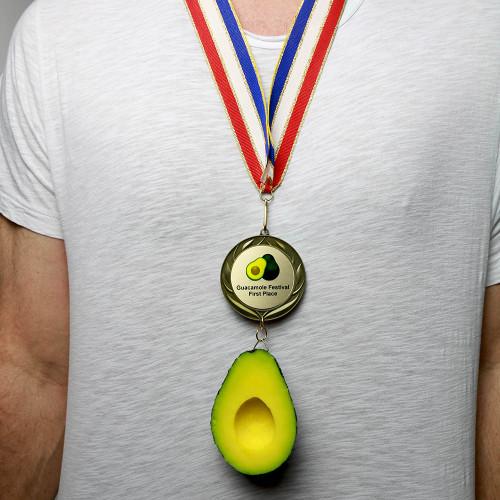 Wearing Avocado Medal