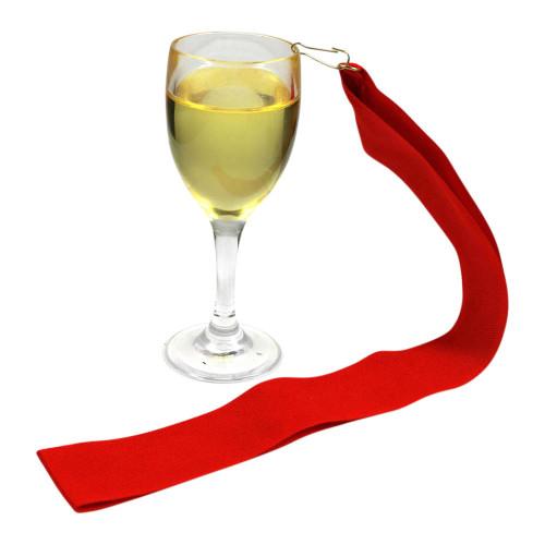 White Wine Medal with Red Ribbon