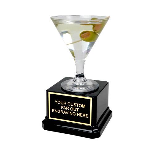 Mini Olive Martini Trophy