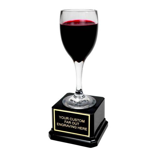 Mini Red Wine Trophy