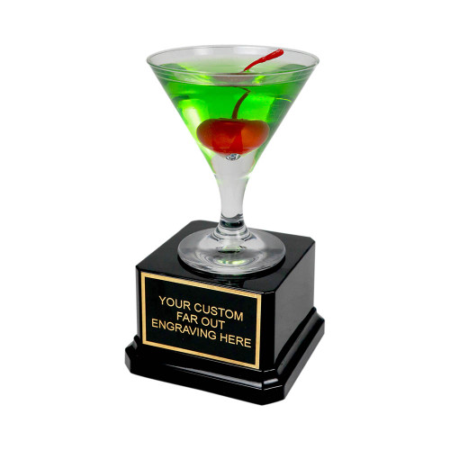 Mini Apple Martini Trophy