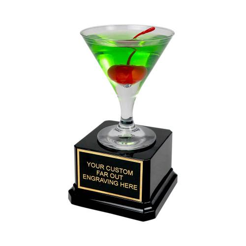 Mini Apple Martini Trophy