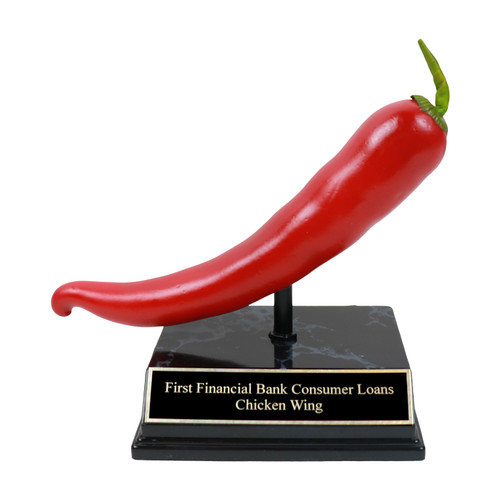 Red Cayenne Pepper Trophy