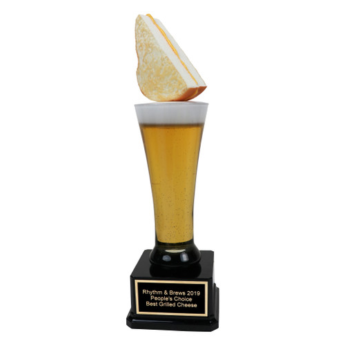 Grilled Cheese Beer Trophy