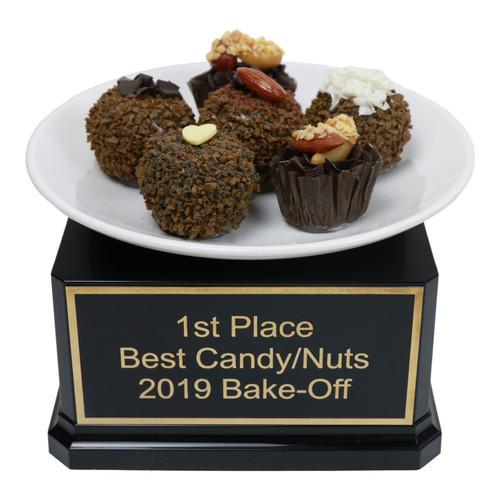 Chocolate Truffle Plate Trophy