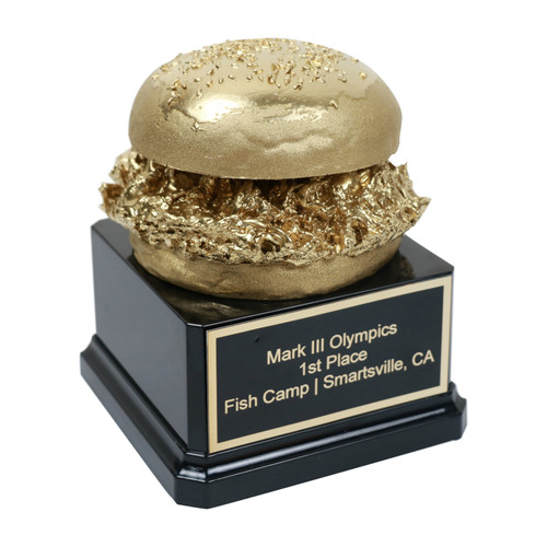 Golden Pulled Pork Trophy