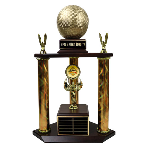 Perpetual Super Kickball Trophy