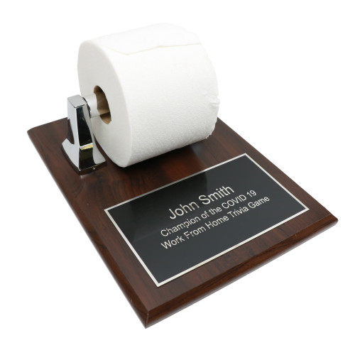 Toilet Paper Plaque