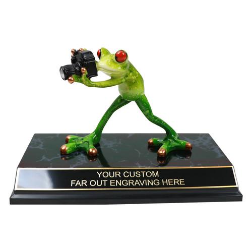 Camera Frog Trophy