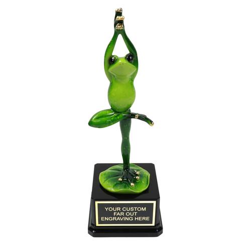 Ballet Frog Trophy