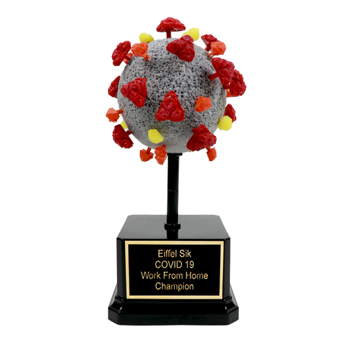 Covid Virus Trophy