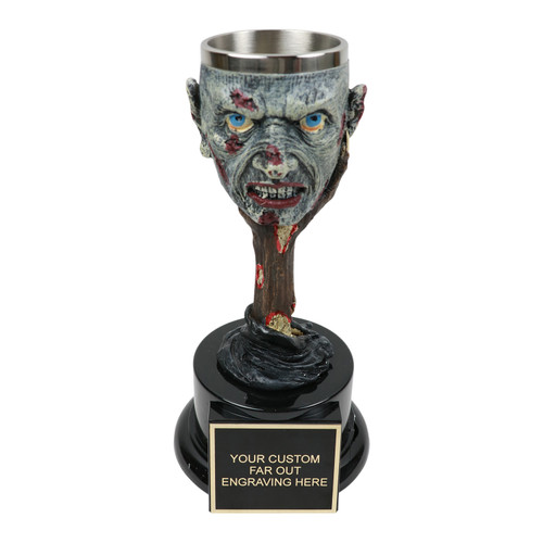 Zombie Goblet Trophy
