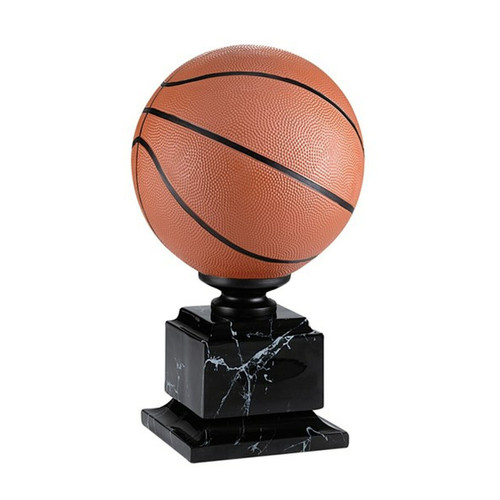 Basketball Triumph Trophy on marble finish base