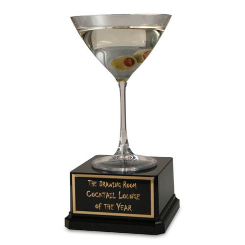 Olive Martini Trophy