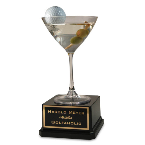Golf Martini Trophy