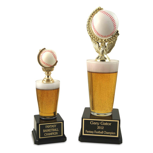 Jr. Beer Pilsner Trophy and Beer Pint Trophy