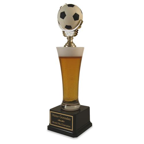 Beer Pilsner Soccer Trophy