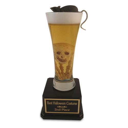 Halloween Pilsner Beer Trophy