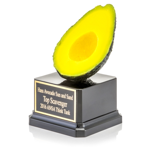 Avocado Half Trophy
