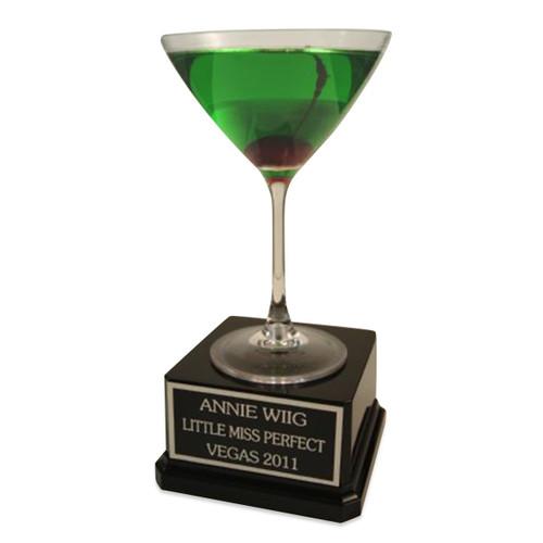 Apple Martini Trophy
