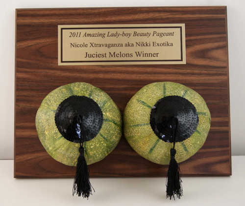 Melons Award Plaque