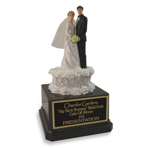 Bride and Groom Trophy