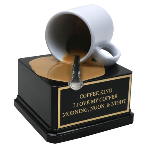 coffee spill trophy