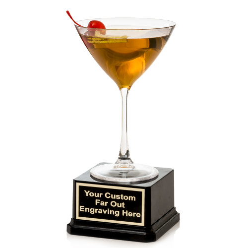 Manhattan Cocktail Trophy