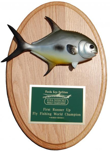 Permit Trophy Fish Mount