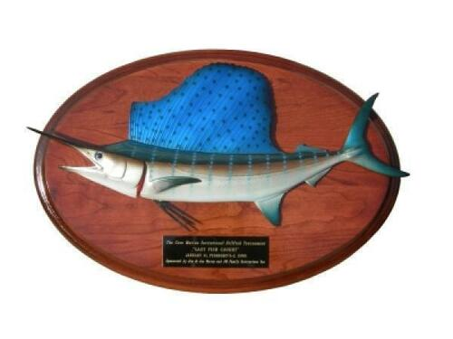 Sailfish Trophy Fish Mount