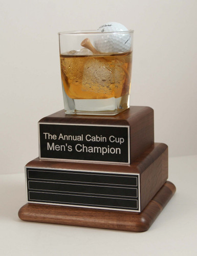 Turn any of our golf trophies into a perpetual golf award!