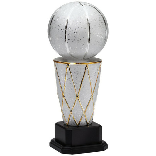 Ceramic Larry O'Brien Inspired Basketball Trophy