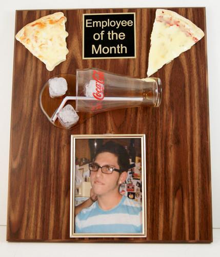 Pizza and Soda Photo Plaque