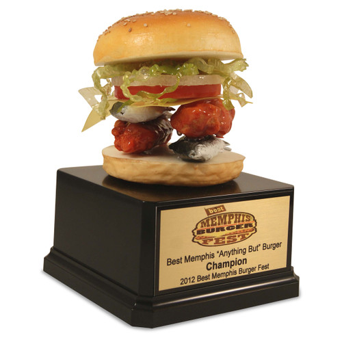 """""""Anything But"""" Burger Trophy"""