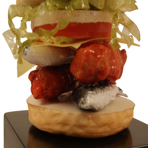 """Anything But"" Burger Trophy"
