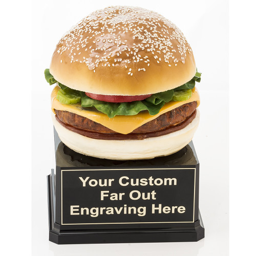 Far Out Burger Trophy