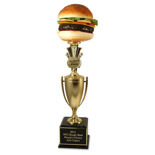 Far Out Burger Trophy Cup