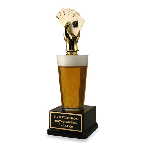 Poker Beer Trophy