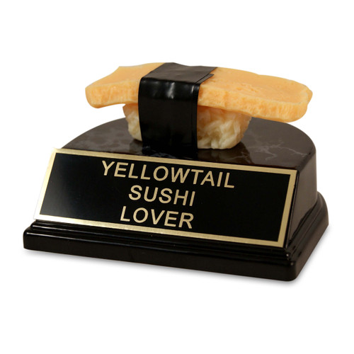 Yellow Sushi Trophy