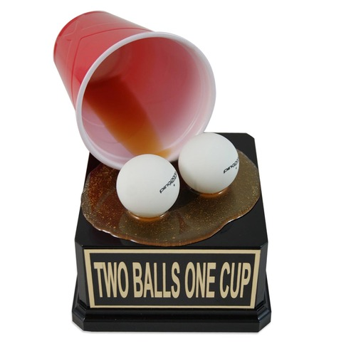 Beer Pong with Two Balls