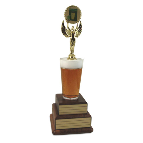 Perpetual Beer with Logo Trophy