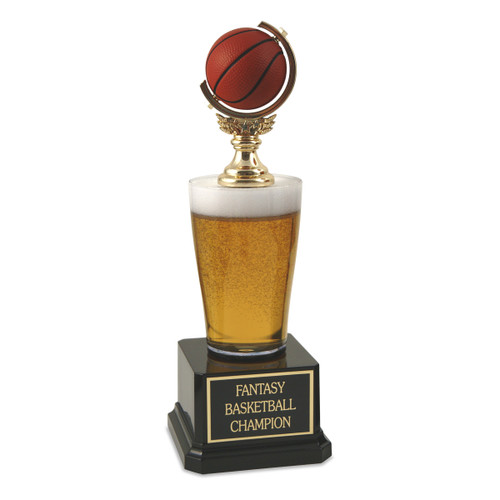 Jr. Beer Pilsner Basketball Trophy