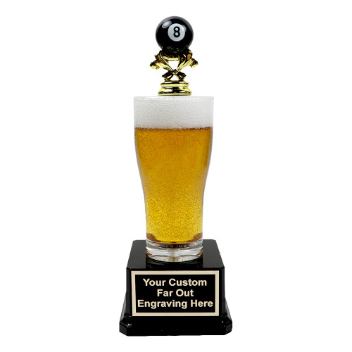 Jr. Beer Pilsner 8-Ball Trophy
