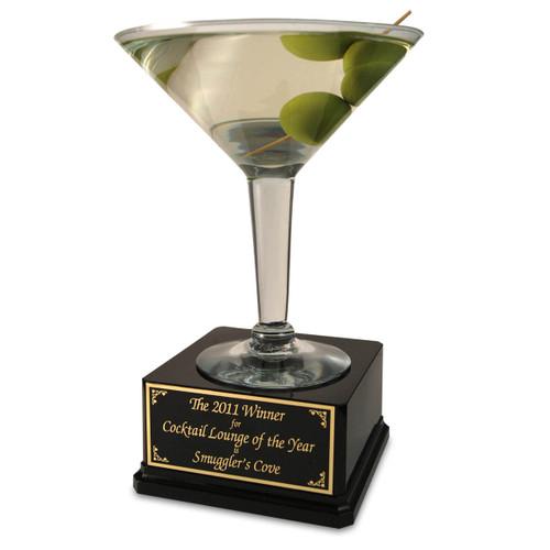 Jumbo Martini Trophy