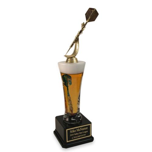 Pilsner Beer Dart Trophy