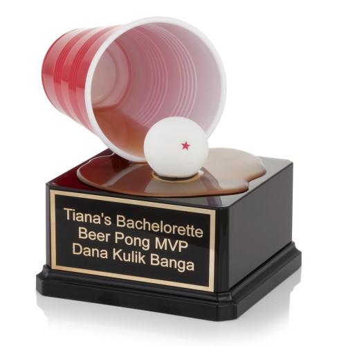 Beer Pong Spill Trophy