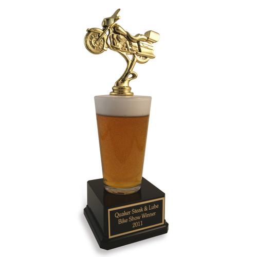 Biker Beer Trophy
